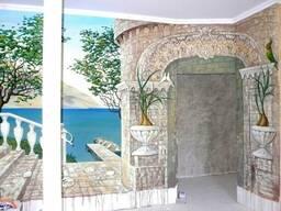Живописные картины, монументально-декоративна роспись (стен)