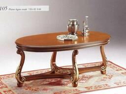 Galimberti столики чайні кавові з круглою і овальними столеш