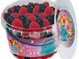 Жувальний мармелад ТМ Jelly Juice Малинки, 0,45 кг. Box (1шт. - 6г)