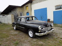 ЗИМ ГАЗ-12 на базе 600 мерседес 140 кузов реставрация