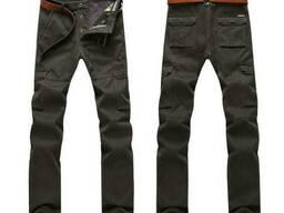Зимние теплые мужские штаны брюки JEEP размеры 32 - 42