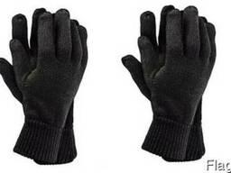 Зимние варежки рукавицы перчатки вязаные мужские, женские. Ш