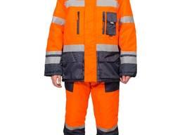 Зимний костюм для дорожников