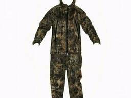 Зимний костюм мембранный с полукомбинезоном Пиксельный клен
