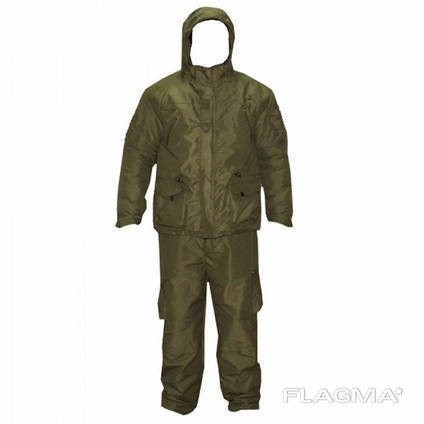 Зимний костюм с мембраной олива
