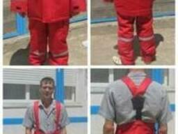 Зимний огнезащитный костюм под заказ