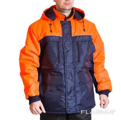 Зимняя рабочая куртка Вега
