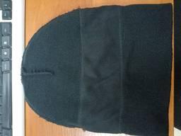 Зимняя теплая шапка с флис подкладкой , головные уборы рабочие