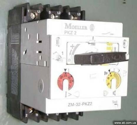 ZM-32-PKZ2 Moeller, автомат защиты