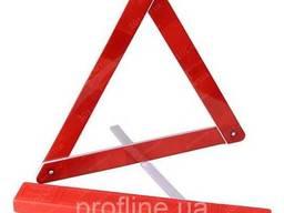 Знак аварійний ЗА 004 пластикова упаковка