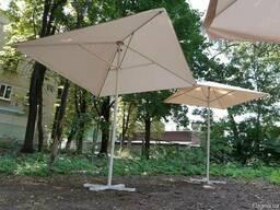 Зонт для кафе 4х4, 3х3
