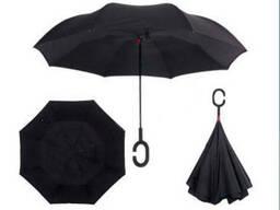 Зонт обратного сложения Up-brella Чёрный №20