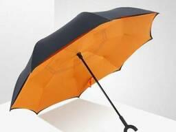 Зонт обратный Reverse Umbrella, антизонт, зонт наоборот