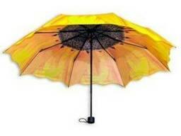 """Зонт """"Подсолнух"""" от солнца и дождя Источник:"""