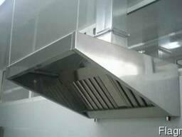 Зонт приточной вытяжной вентиляции