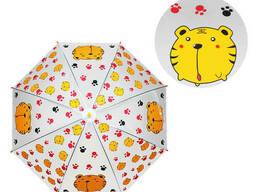 Зонтик детский METR+ трость (Тигр) (MK 4115-5)