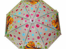 Зонтик детский трость (Pink) (MK 3877-2(Pink))