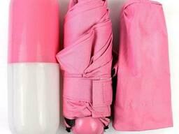 Зонтик-капсула 6752, розовый
