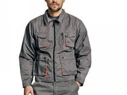 Зручна робоча куртка прямого силуету