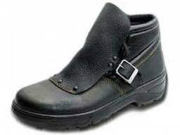 Ботинки юфтевые для сварщика с металлическим носком