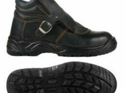 Ботинки юфтевые с жестким подноском