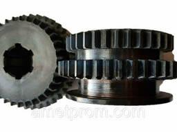 Зубчатое колесо, шестерня 2 оси 16к20, 16к20.020.441 z-34,39