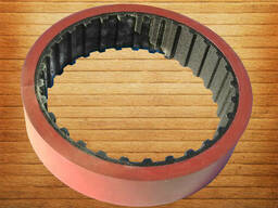 Зубчатый ремень протяжки пленки 2725 109 L100 7 mm Vikolaks - фото 2