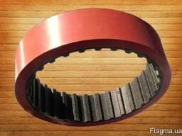 Зубчатый ремень протяжки пленки 2725 109 L100 7 mm Vikolaks - фото 3