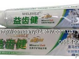 Зубная паста лечебная, натуральная, с анионами и мин. солями
