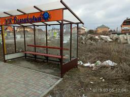 Зупинка громадського транспорту (Елегант) 3910х2370 зі склом