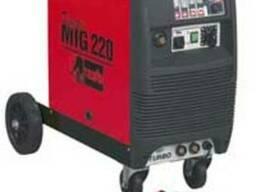 Зварювальний пів-автомат telwin digital mig 220
