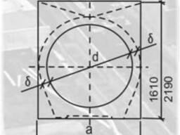 Звено круглой трубы ЗКП 15.150; ЗКП 17.150 дорожные