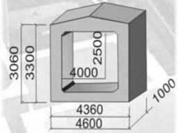 Звено прямоуг труб ЗП 19.100; ЗП 20.100; ЗП 21.75; ЗП 21.100