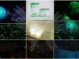 Звездное небо с помощью светящейся краски - фото 7