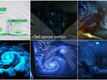 Звездное небо с помощью светящейся краски - фото 8