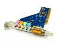 Звукова карта PCI - 4CH (c-media 8738), 3D 4.1, Windows. ..